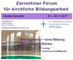 Zarrentiner Forum November 2017